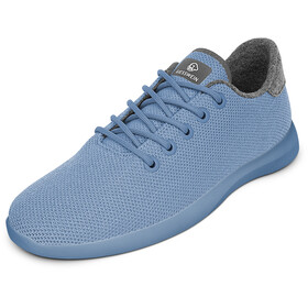 Giesswein Merino Wool Knit Runners Women sky blue